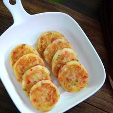酸菜土豆煎饼