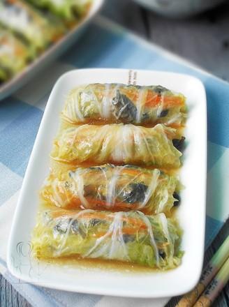 蒸白菜卷的做法
