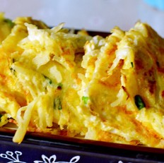 土豆鸡蛋饼