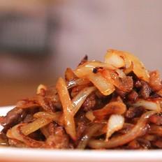洋葱牛肉丝