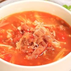 番茄肥牛锅