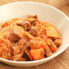 酸菜牛肉炖粉条