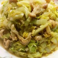 大白菜炒猪肉