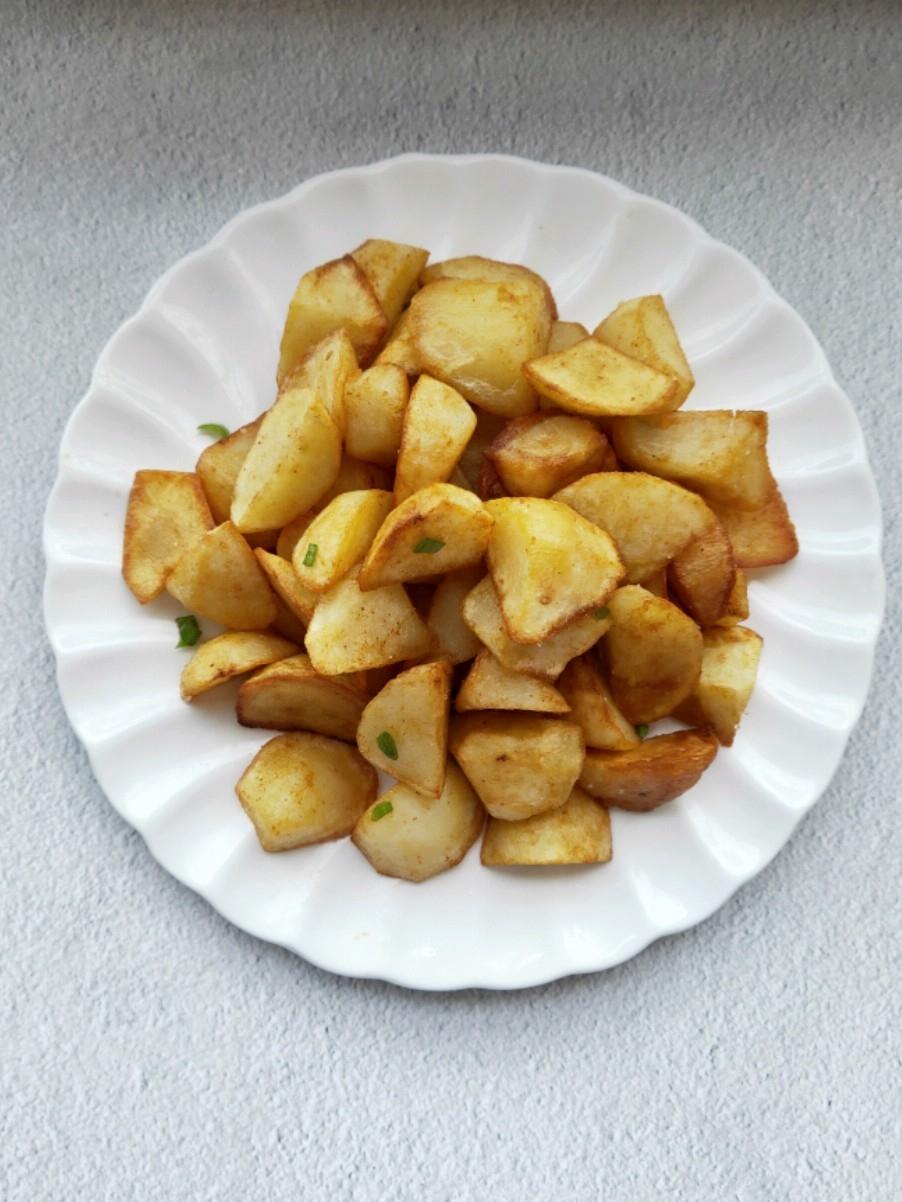 孜然土豆块