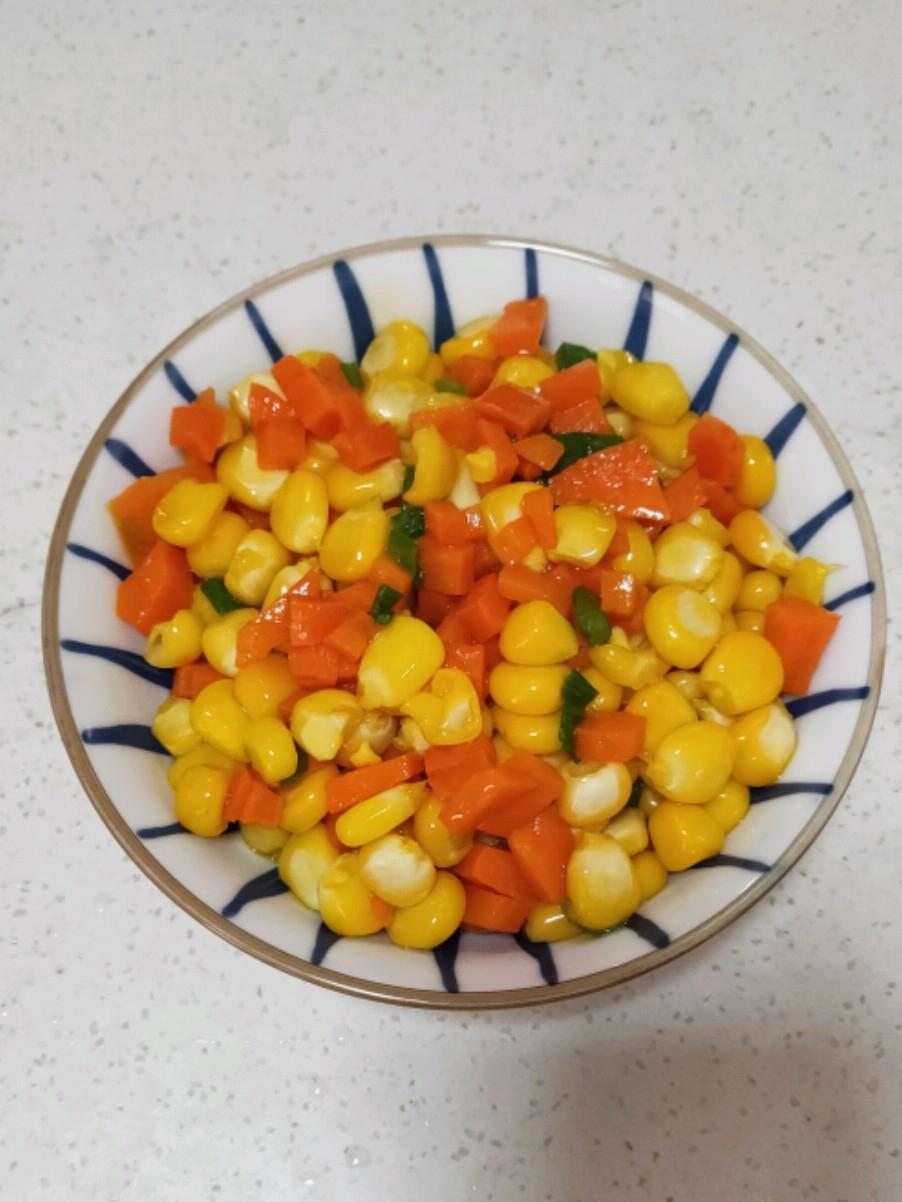 胡萝卜玉米粒