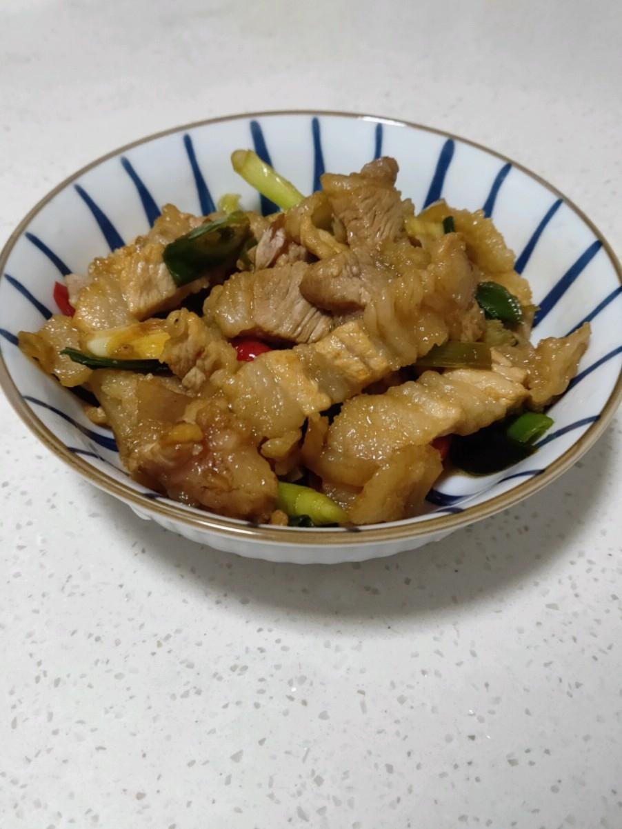 炒肉片的做法