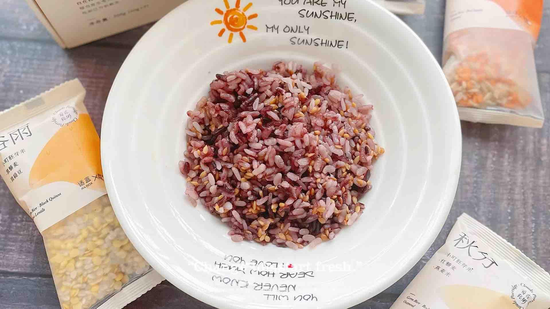 全谷物米饭的做法