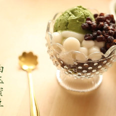 宇治抹茶雪糕x白玉蜜豆《仓之食》10