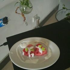 冰镇酸奶西瓜