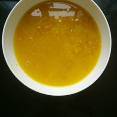 南瓜糯米荞麦粥