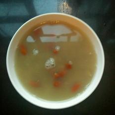 大米绿豆枸杞粥