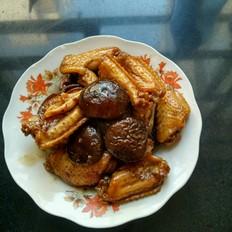 香菇可乐鸡翅