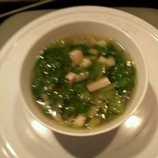 生菜豆腐汤