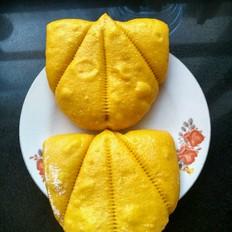 南瓜扇型饼子