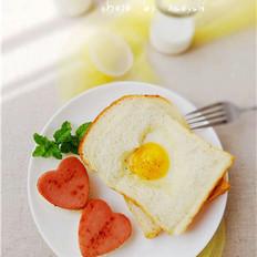 爱心吐司煎蛋
