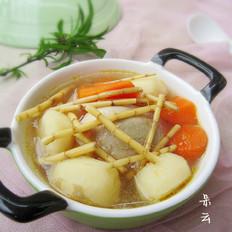 茅根马蹄胡萝卜汤
