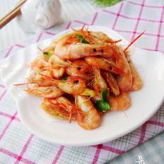 煎炒小河虾