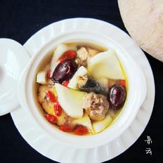 土鸡椰肉汤