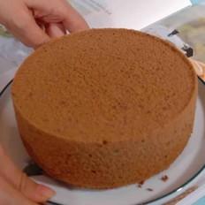 咖啡巧克力戚风蛋糕