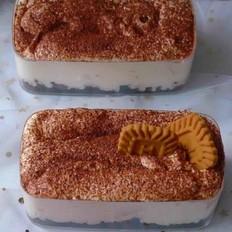 水蜜桃奶油盒子蛋糕