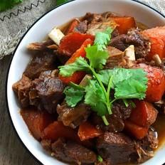 羊排炖胡萝卜