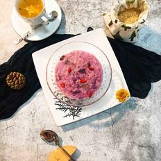燕麦紫薯红枣粥