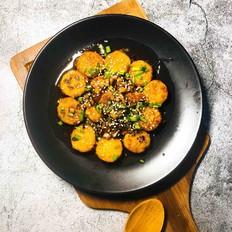 茄汁脆皮日本豆腐