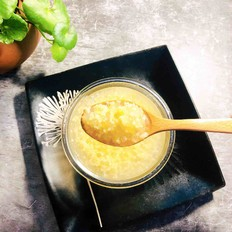 西米黄米粥
