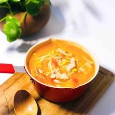 金针菇之酸汤肉片