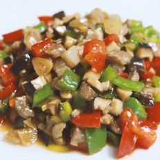 香菇炒肉丁