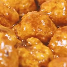 糖醋鸡肉丸