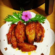 奥尔良烤鸡翅(空气炸锅版)