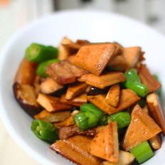 五花肉炒豆腐干