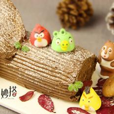 妙搭食谱 | 圣诞就吃能带来一生好运的树根蛋糕
