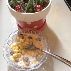 红枣酸奶玉米