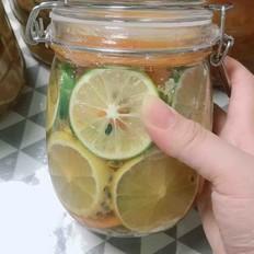 柠檬百香果蜜