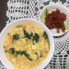 早餐疙瘩汤