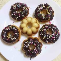 甜甜圈 烤箱版