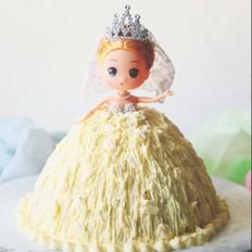 芭比蛋糕胚