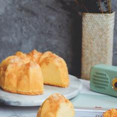 芒果丁海绵蛋糕