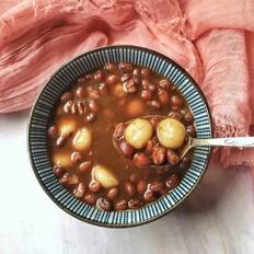 糯米丸子红豆汤