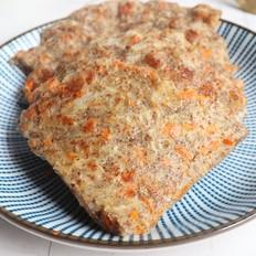 洋葱胡萝卜全麦饼
