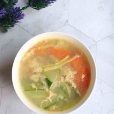 黄瓜胡萝卜蛋花汤