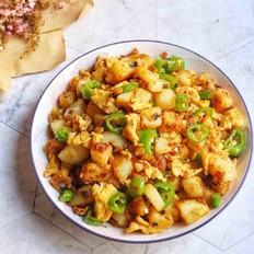 香辣面土豆