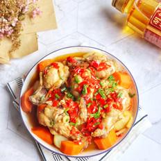 土豆蒸鸡腿
