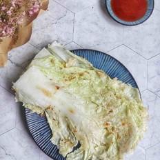 韩国小吃白菜煎饼