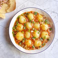 水晶土豆丸子