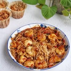 日本豆腐金针菇煲