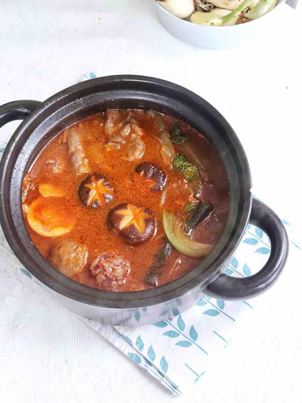 一人食泡菜锅