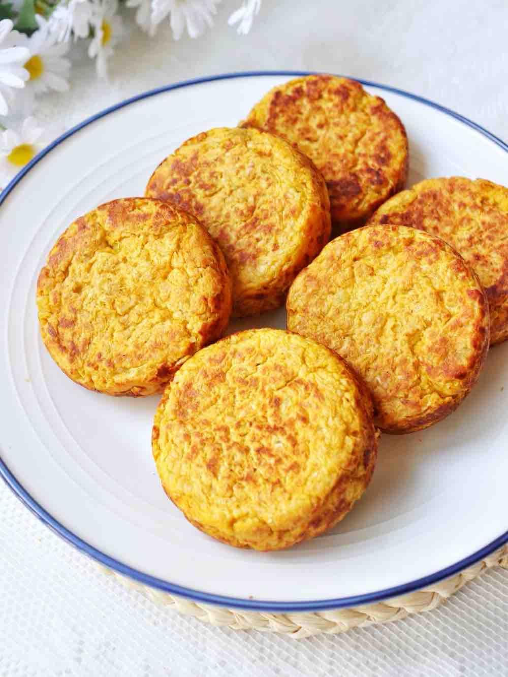 红薯麦麸饼